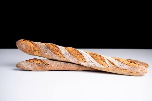 Barra de trigo con lino